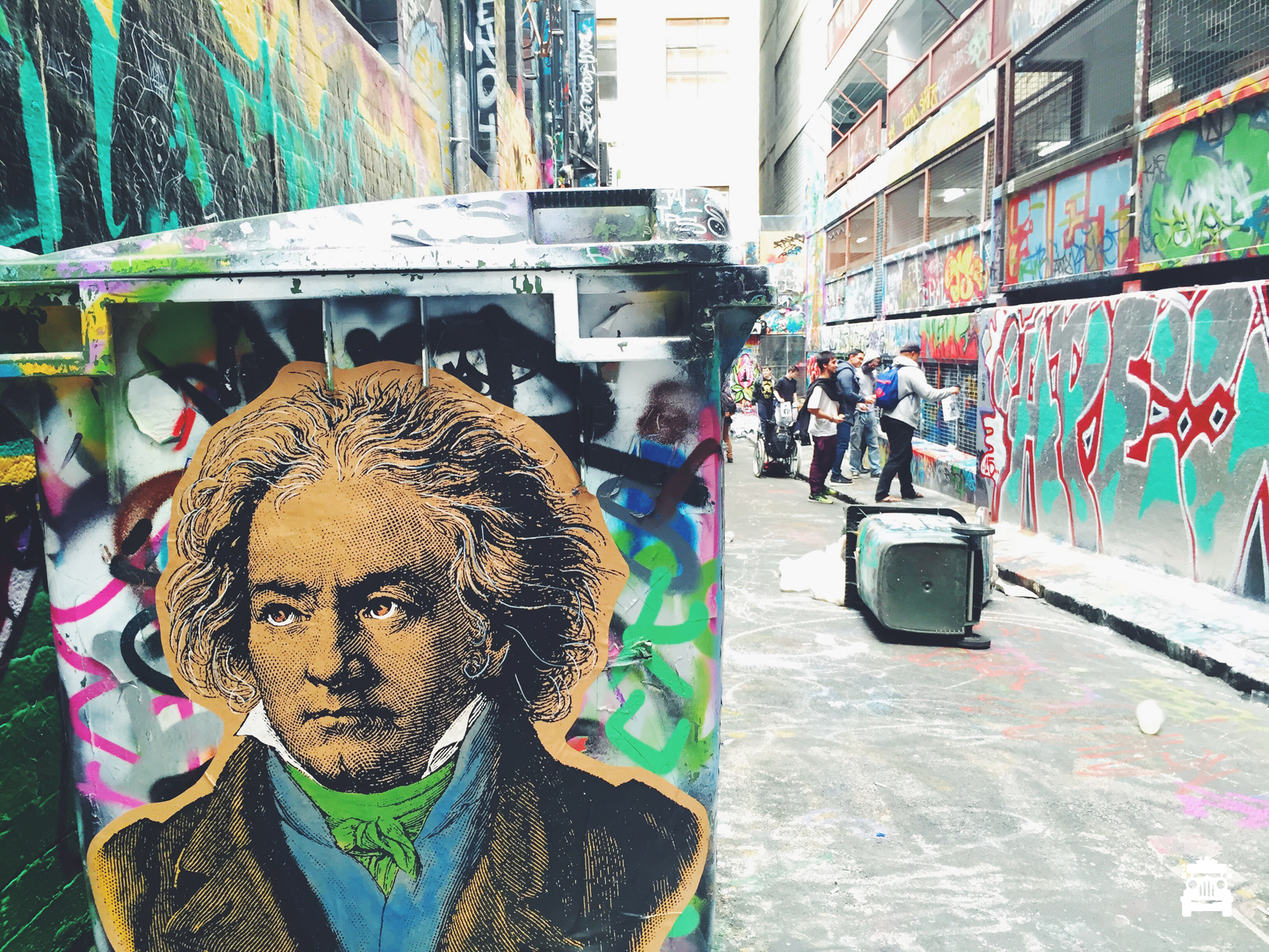 Hanging out with Beethoven?