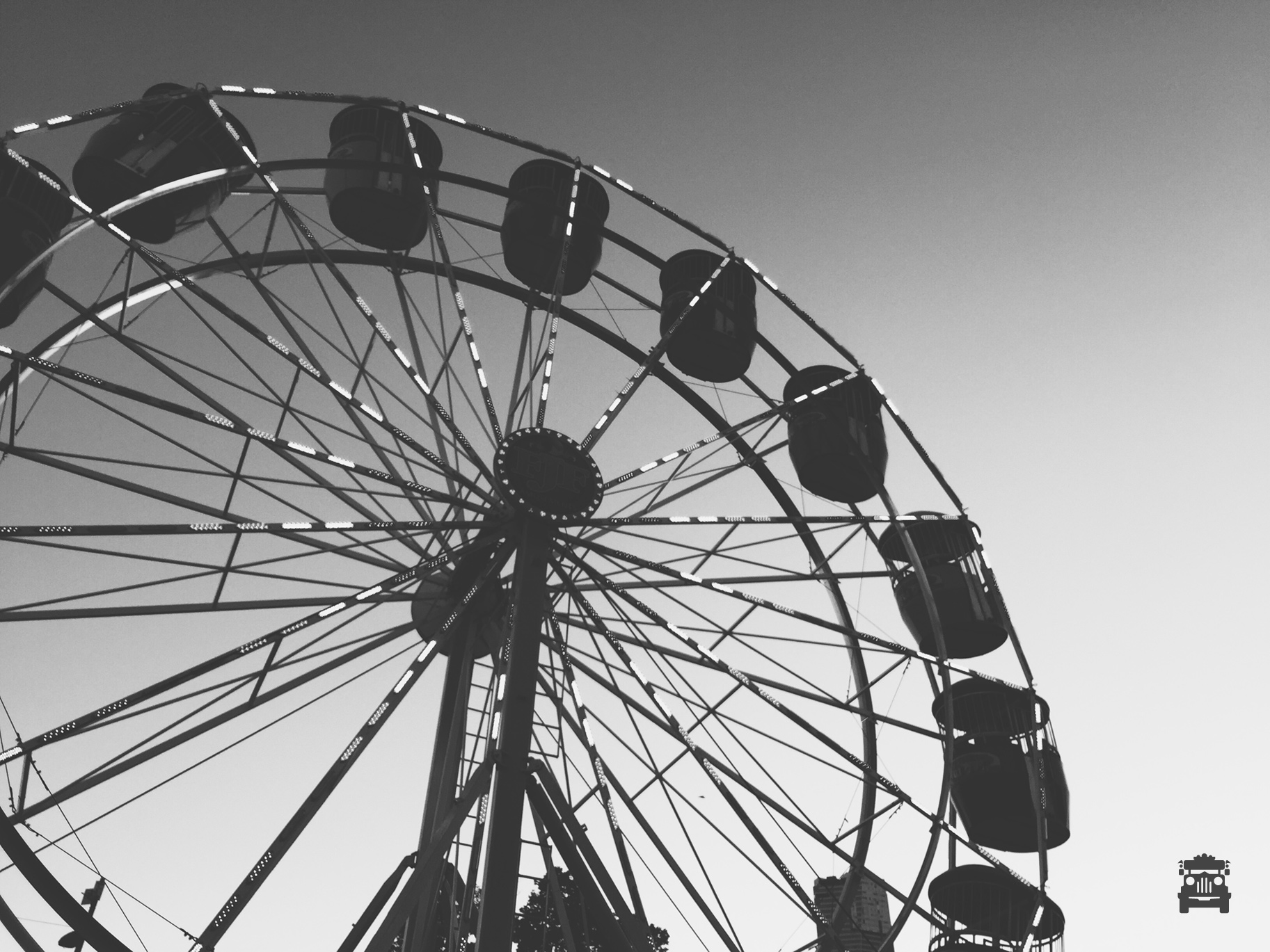 Ferris wheel would be our choice of ride to go on haha.