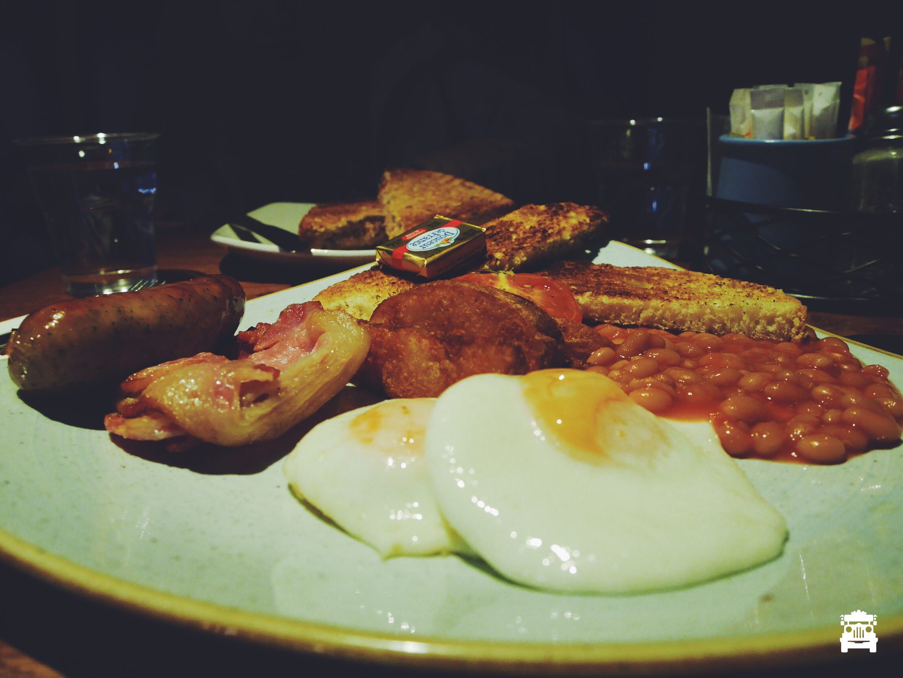 Big breakfast for me of course