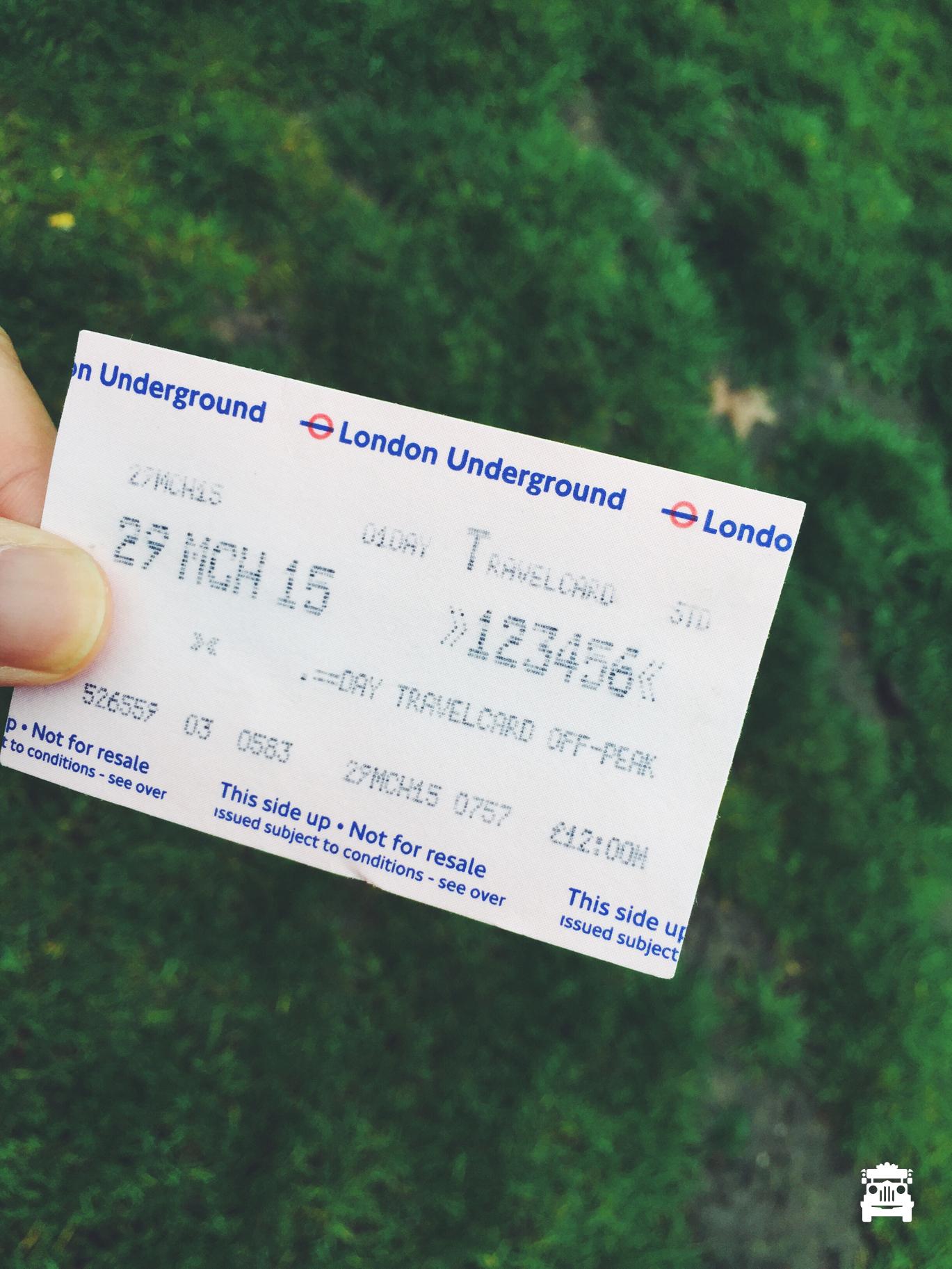 Found my lost ticket!