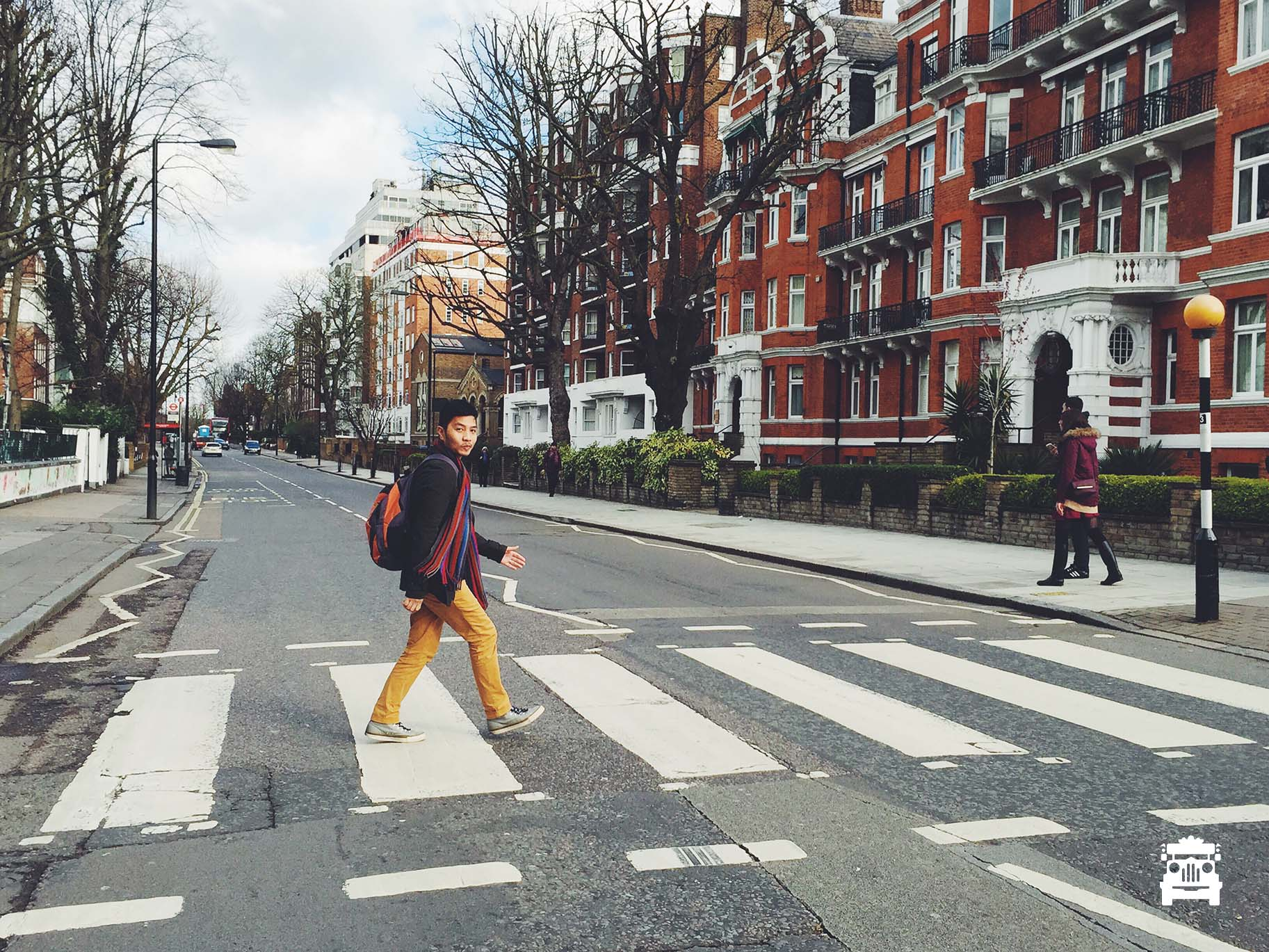 First attempt at crossing Abbey Road