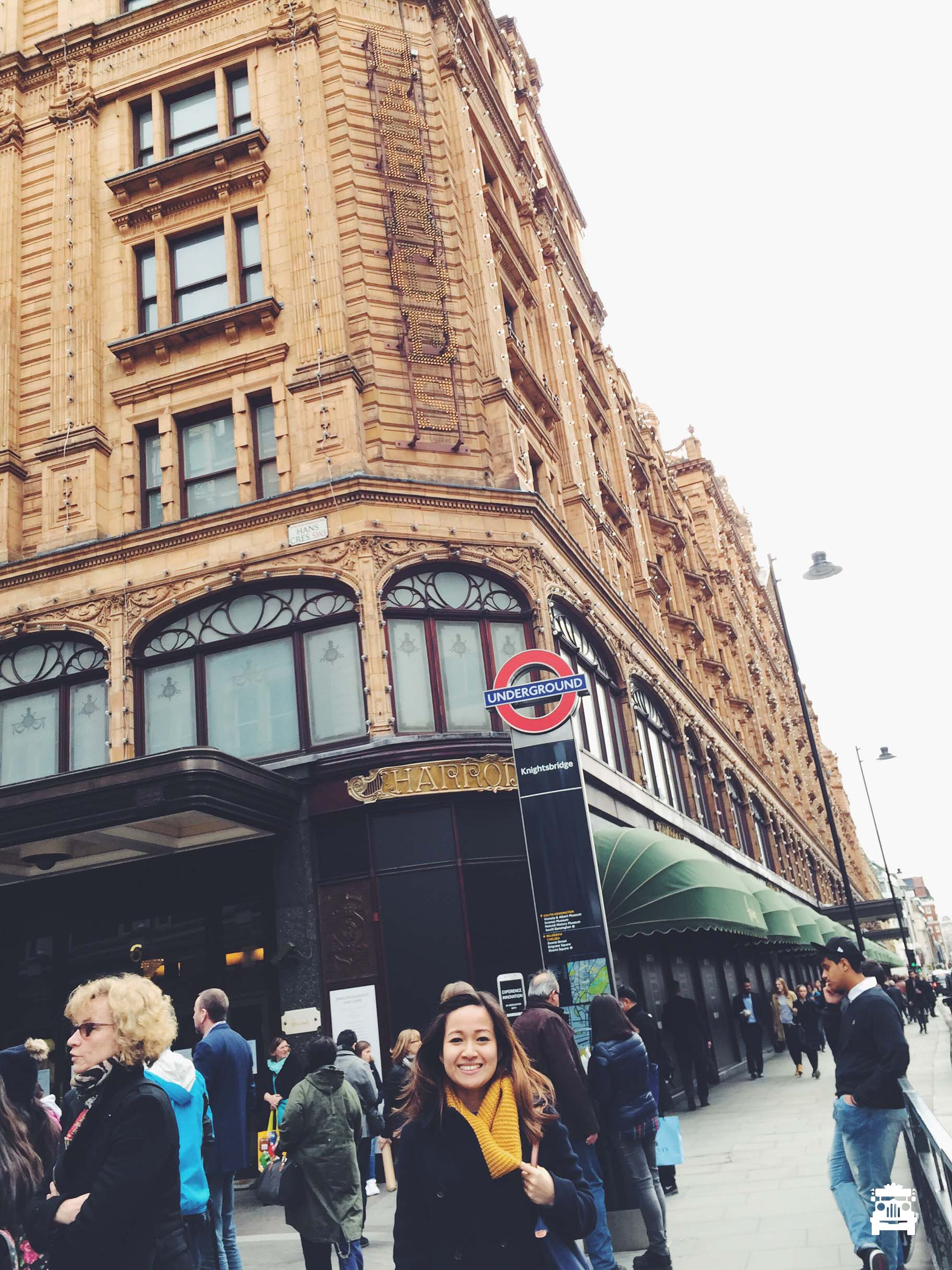 Walked in and walked out immediately at Harrods lol