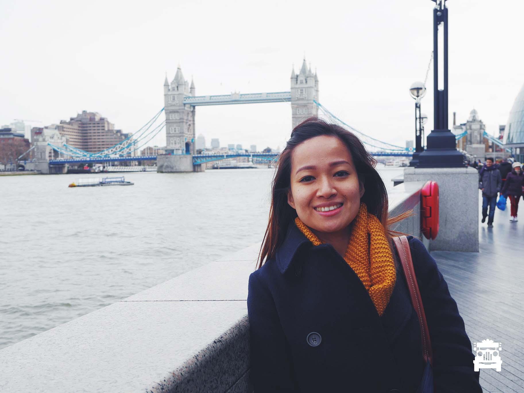 Tower Bridge is not falling down, my fair lady :D