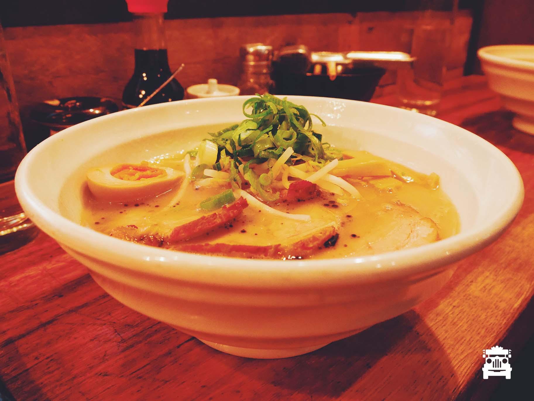 Ramen at Tonkotsu Ramen Bar