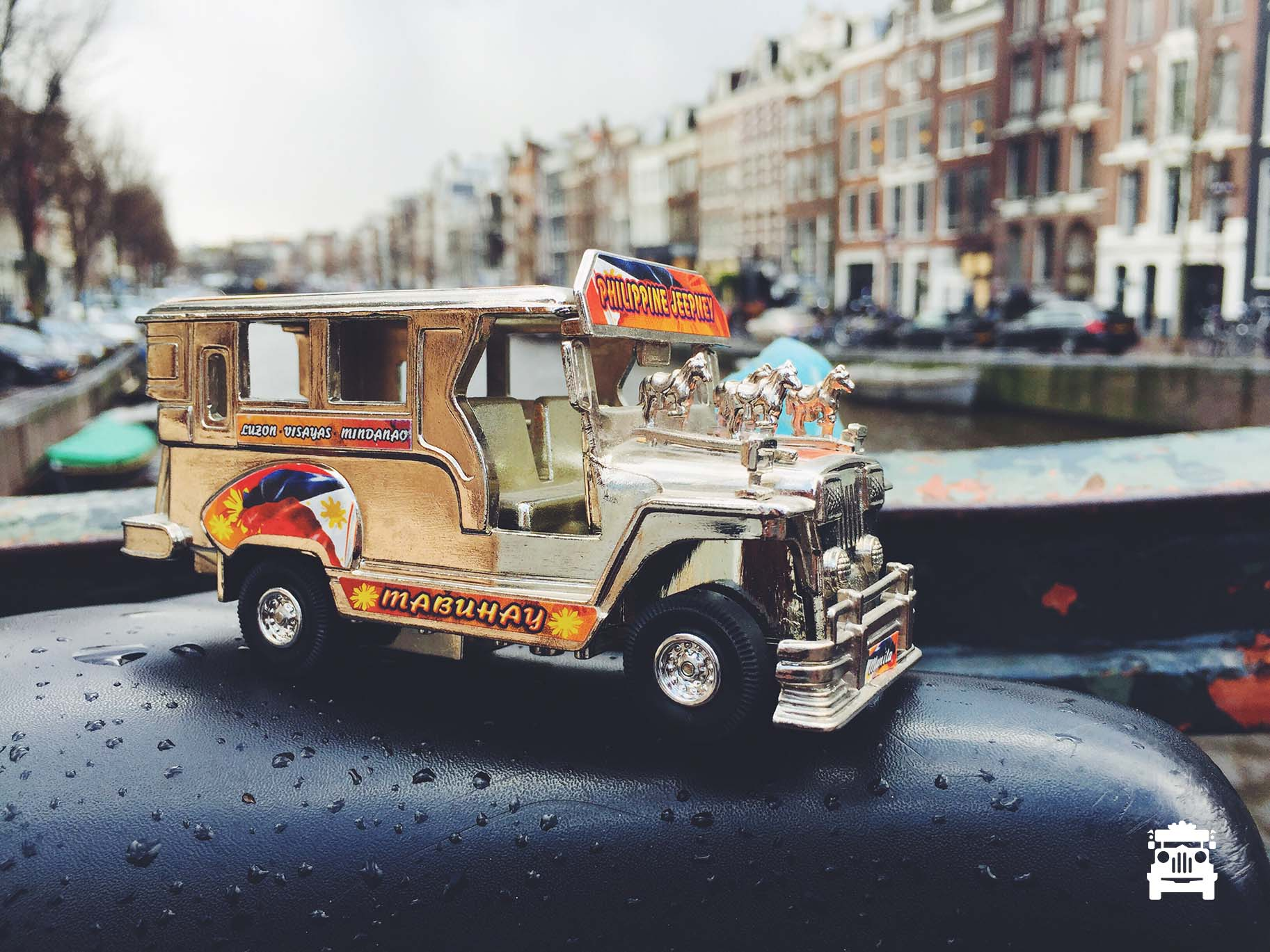 Jeep in Amsterdam