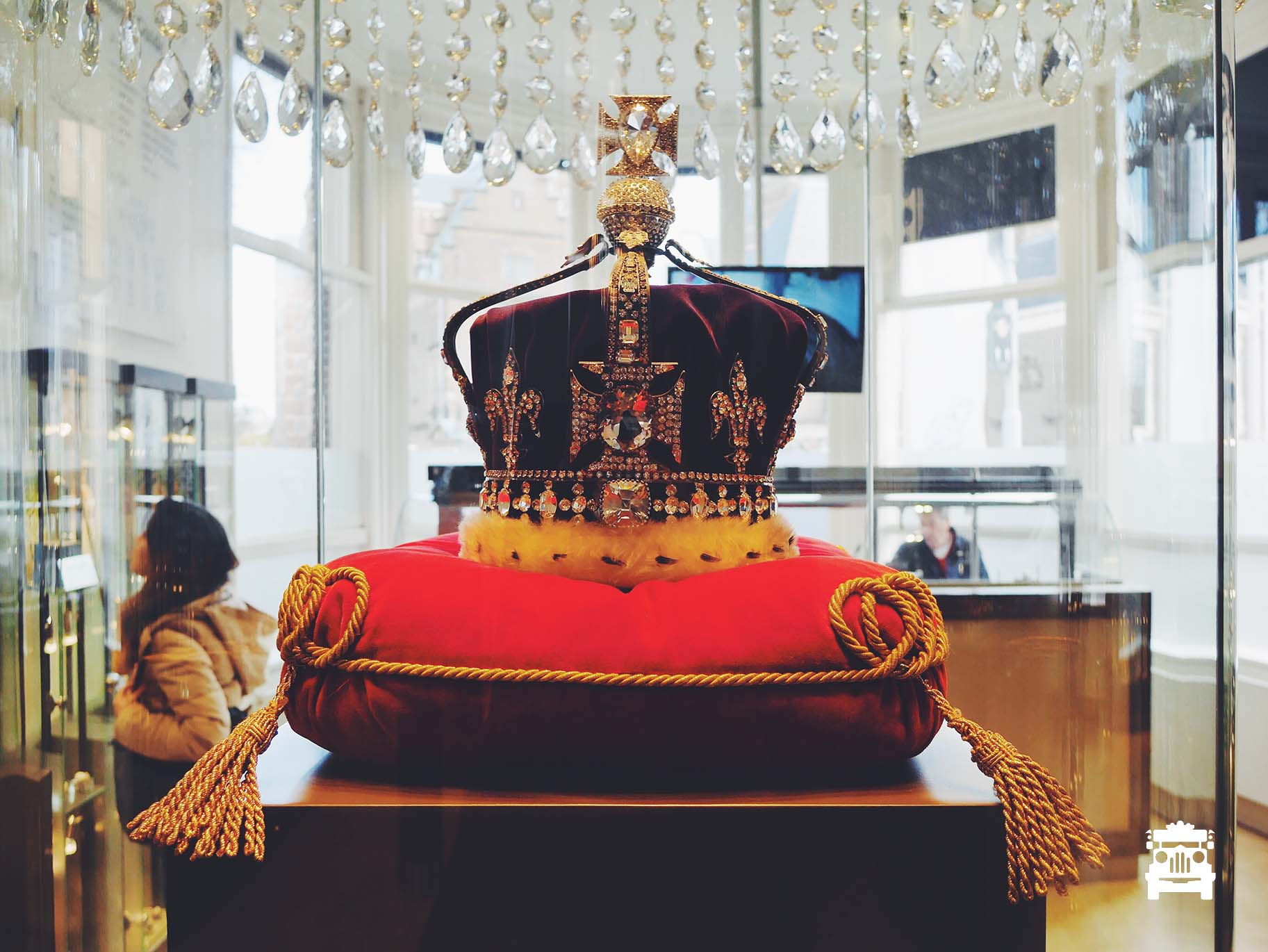 Replica of one of the crown jewels, not sure whose