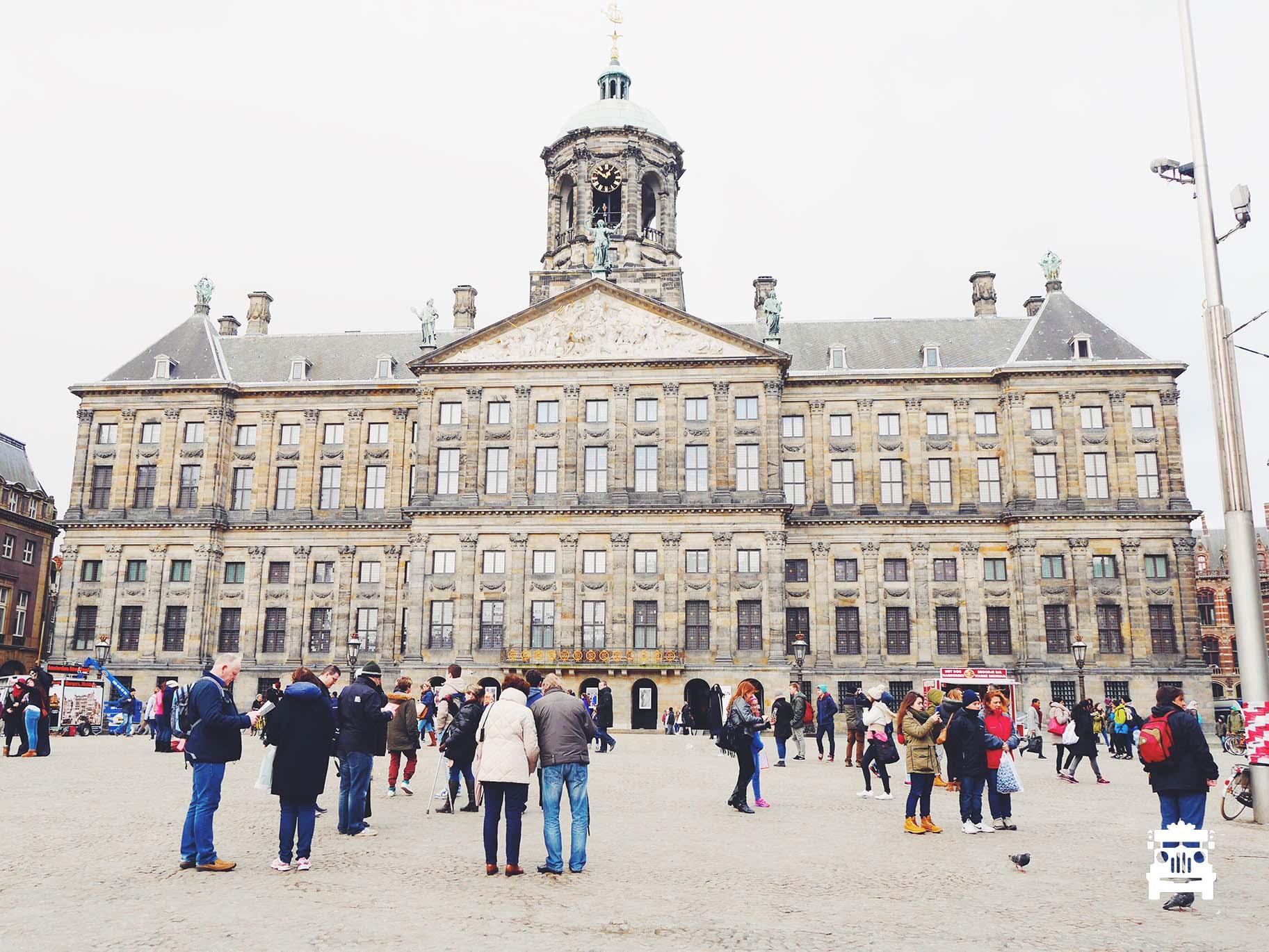 Royal Palace at Dam Square