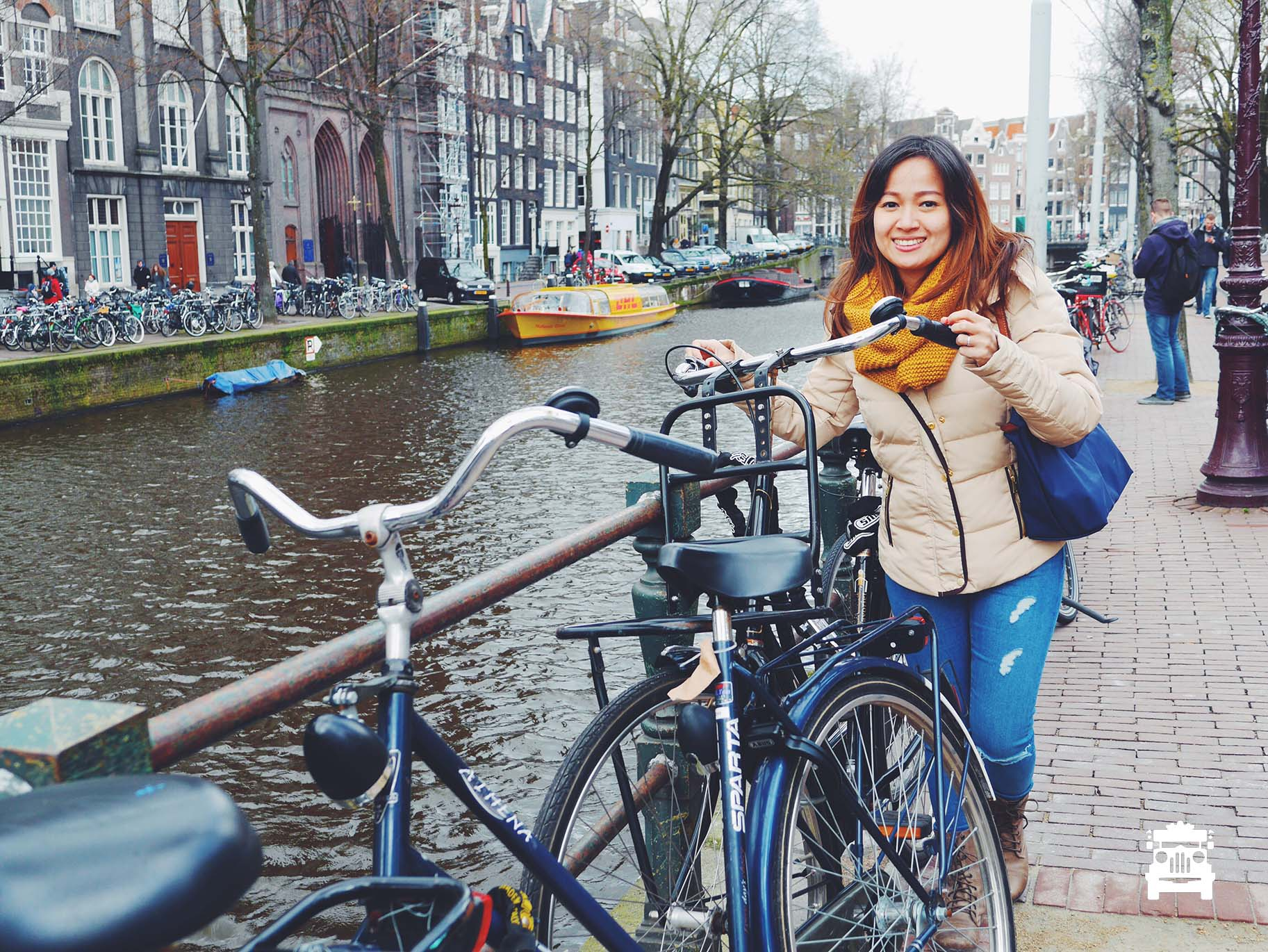 Amsterdamers love to ride push bikes, did you know that around 50,000 are stolen each year?