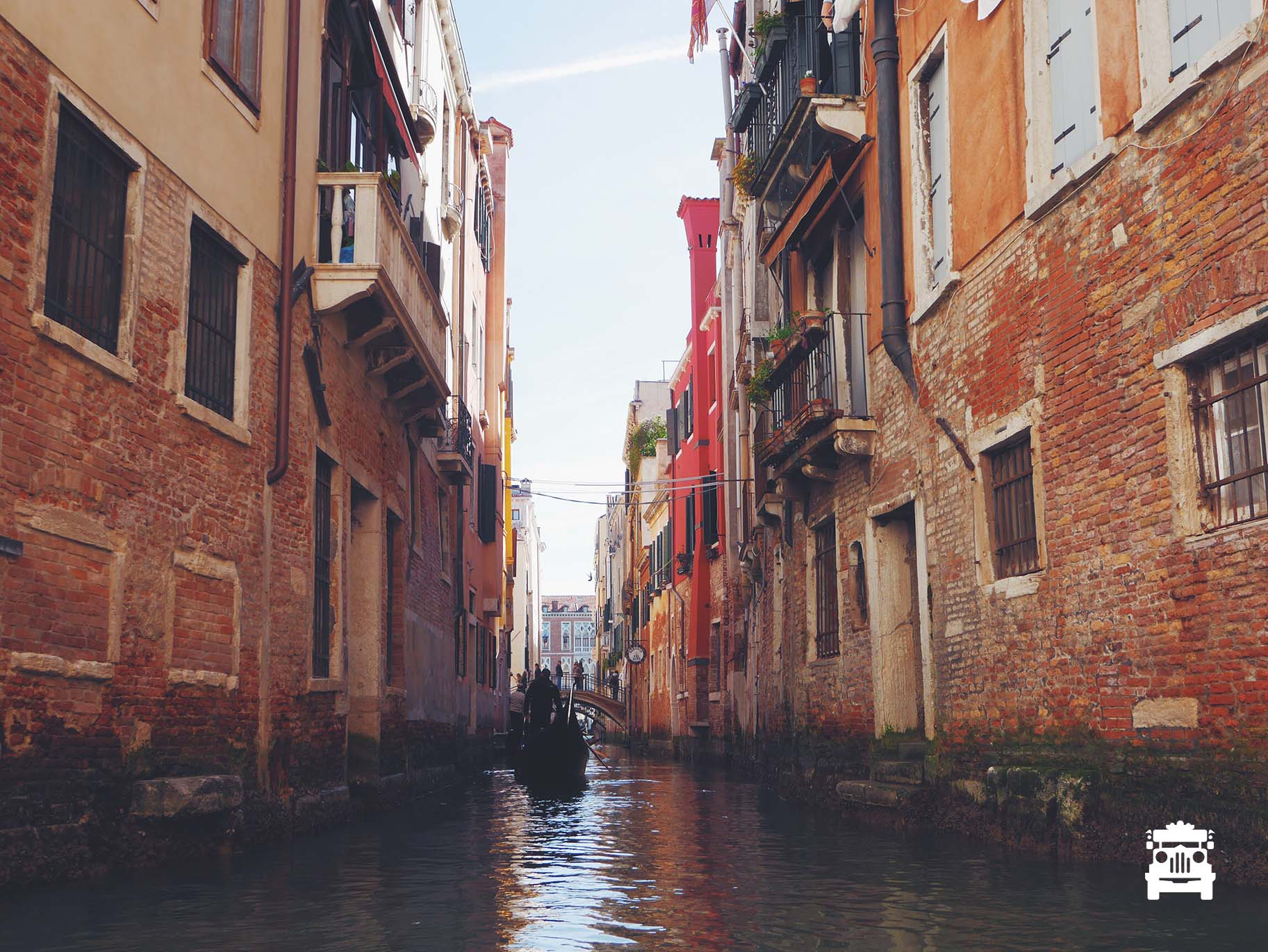 Went through the smaller canals within the city