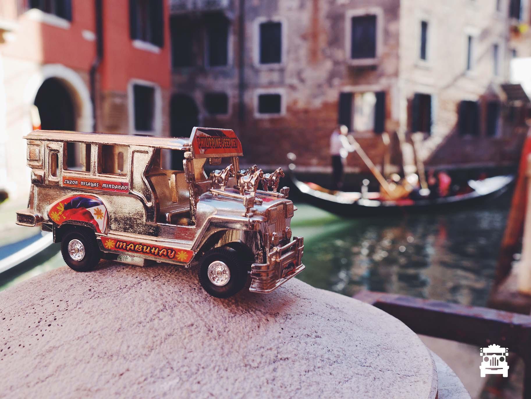 Jeep in Venice!