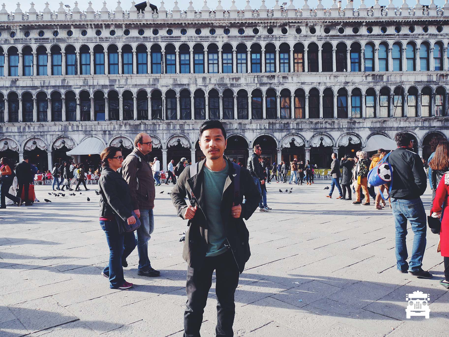 At St Mark's Square