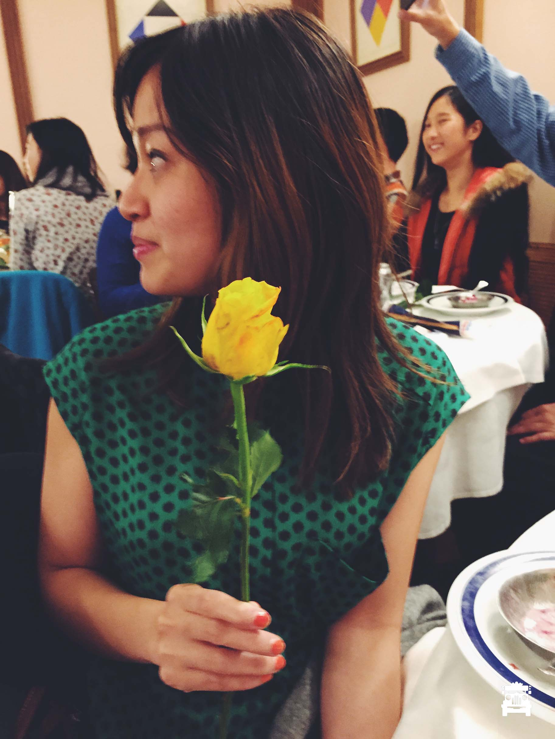 A rose for the lady :)
