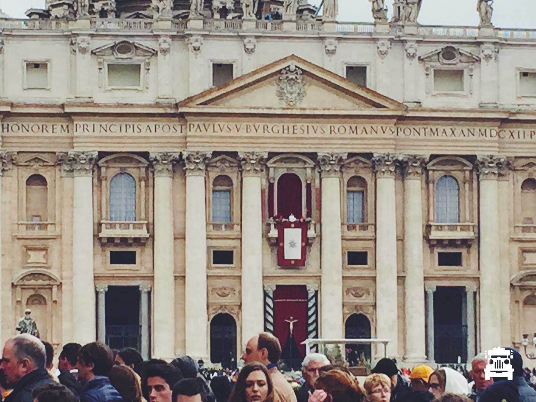 That white speck was the Pope lol