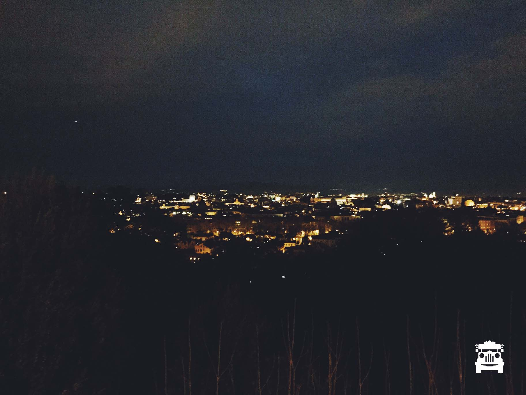 View of Rome from Travestere