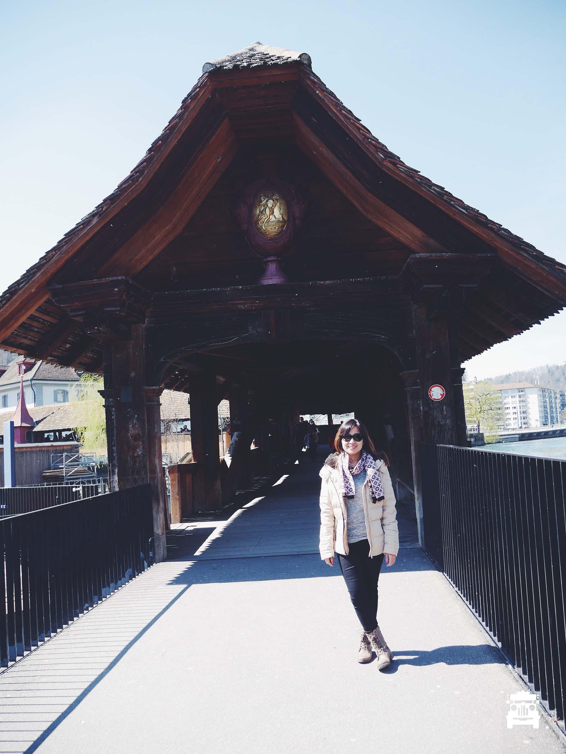 On the Chapel Bridge