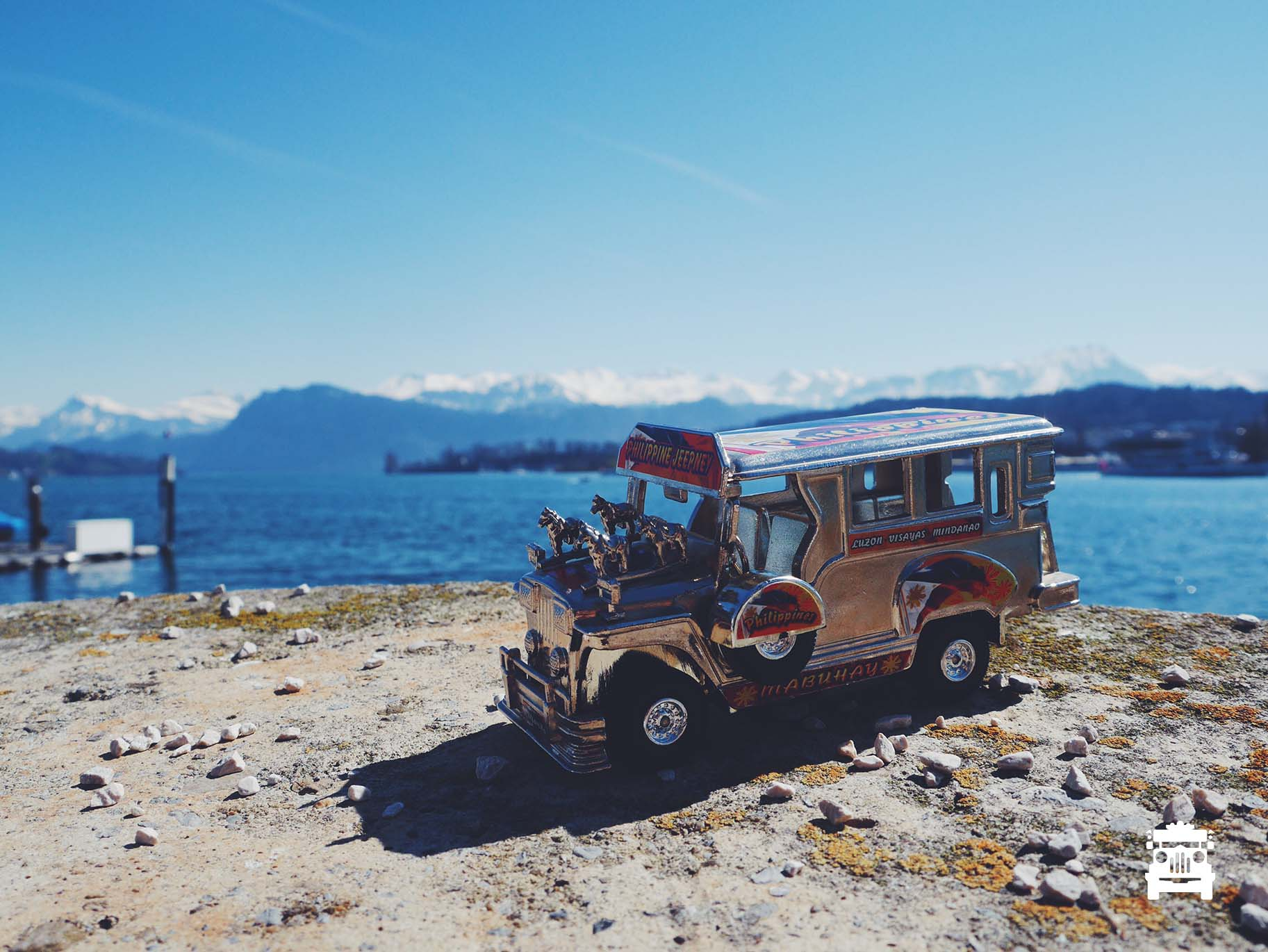 Jeep in Lucerne