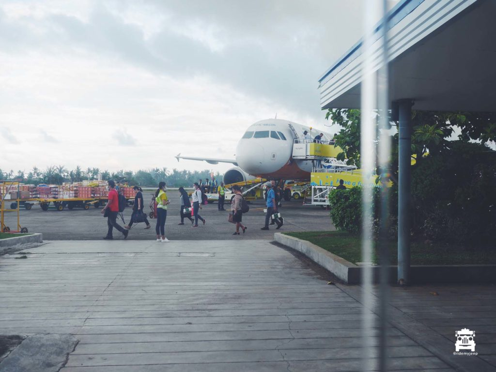 Landed at Roxas City Airport in Capiz