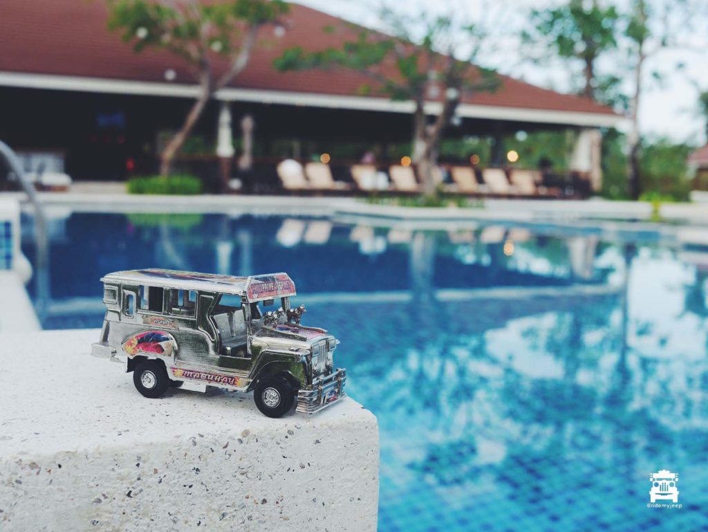 Jeep in Solina Beach & Nature Resort in Iloilo