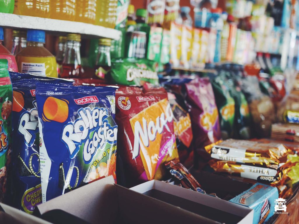 Filipino snacks at the sari-sari store